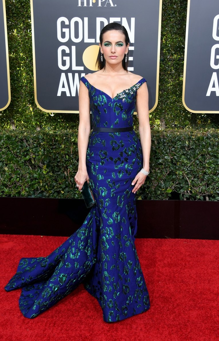 Camille Belle Golden Globes 2019 (2)