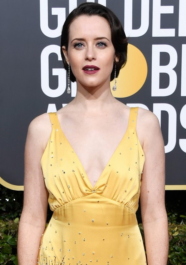 Claire Foy Golden Globes 2019 (1)