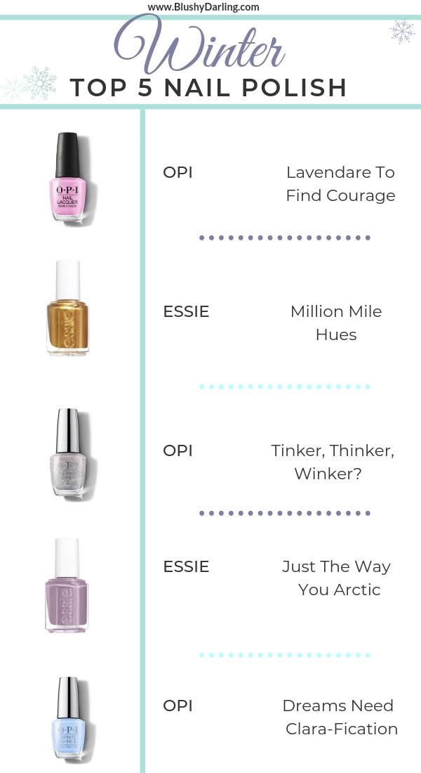 Winter Nail Polish top 5