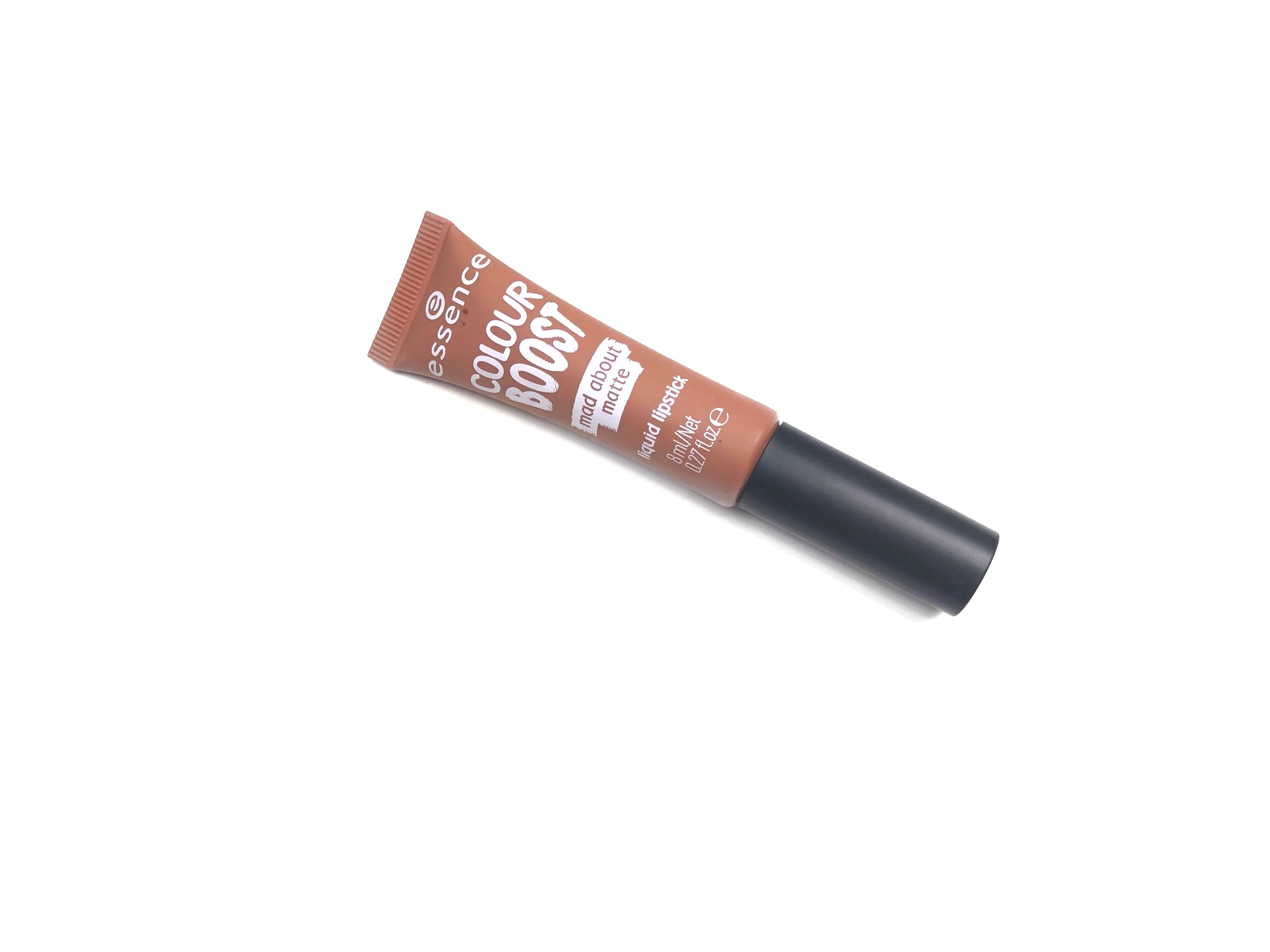 Essence Colour Boost Mad About Matte Liquid Lipstick in 01 Dusty Romance