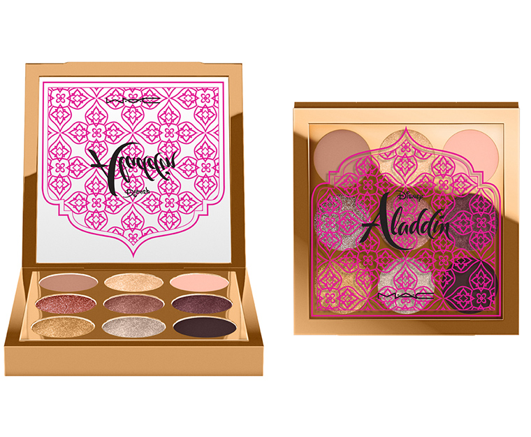 Mac x Disney Aladdin Collection Princess Jasmine Eyeshadow Palette