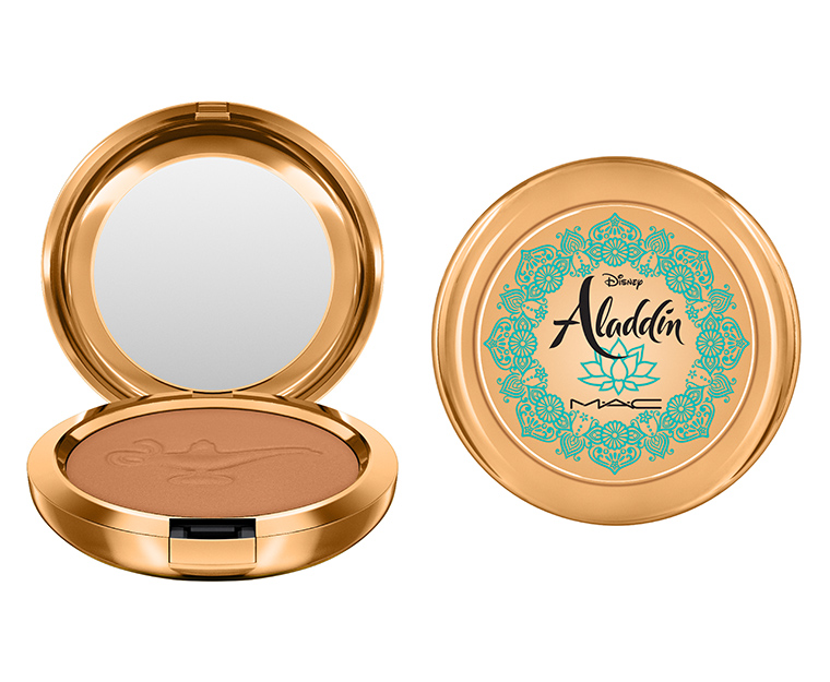 Mac x Disney Aladdin Collection Powder Bronzer in Your Wish is My Command