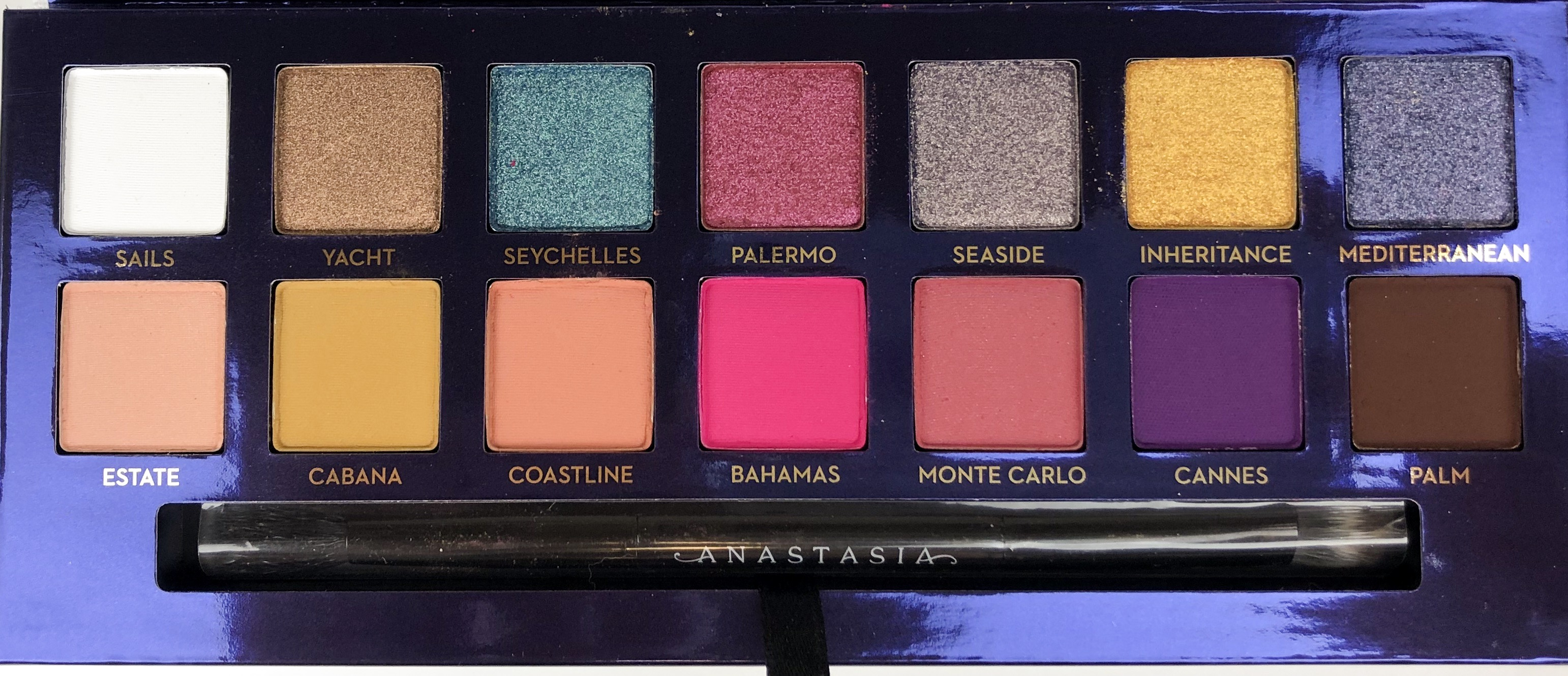 Review Anastasia Beverly Hills Riviera Palette 13