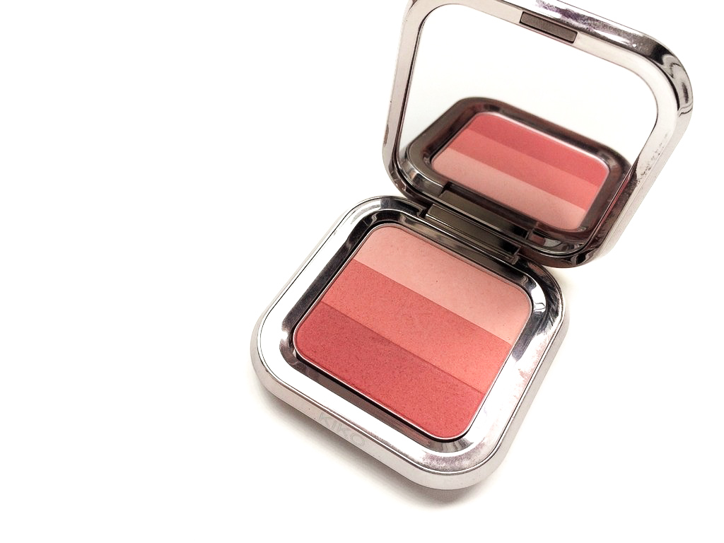 Kiko Natural Rose (01) Shade Fusion Trio Blush | Review