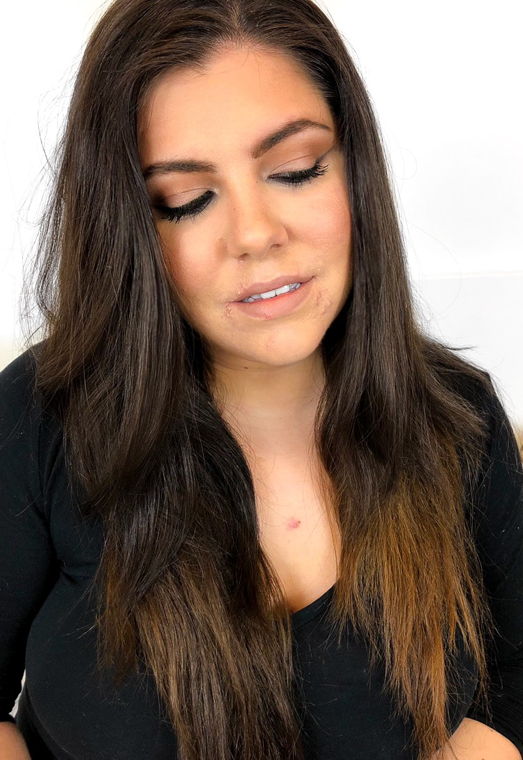 Kim Kardashian Cannes Inspired Look makeup
