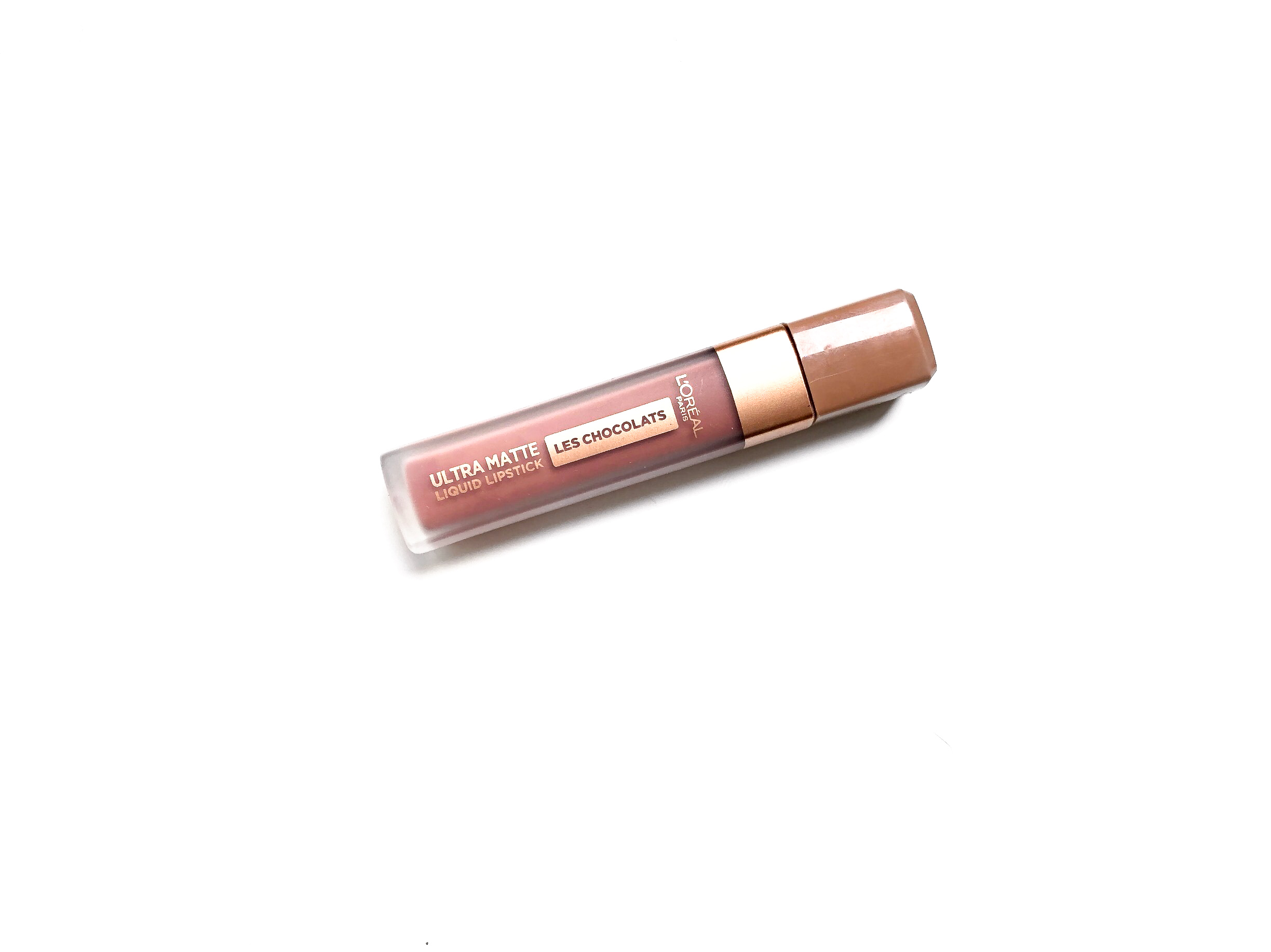 L'Oréal Dose Of Cocoa Les Chocolates Ultra Matte Liquid Lipstick Review 2