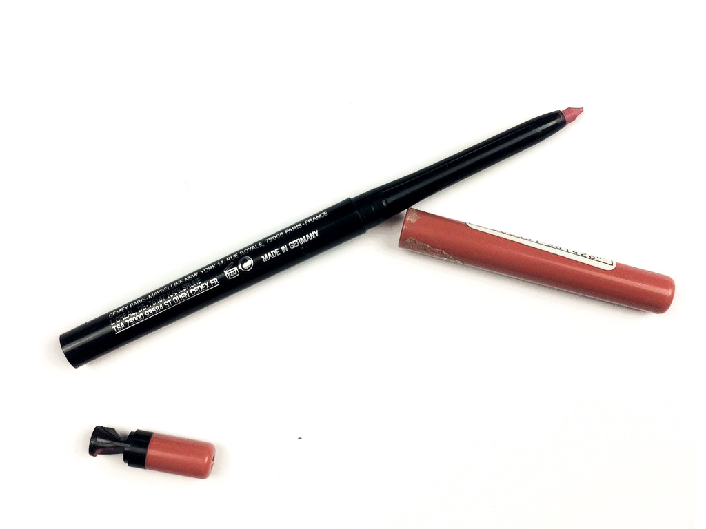 Maybelline Dusty Rose Color Sensational Shaping Lip Liner | Review