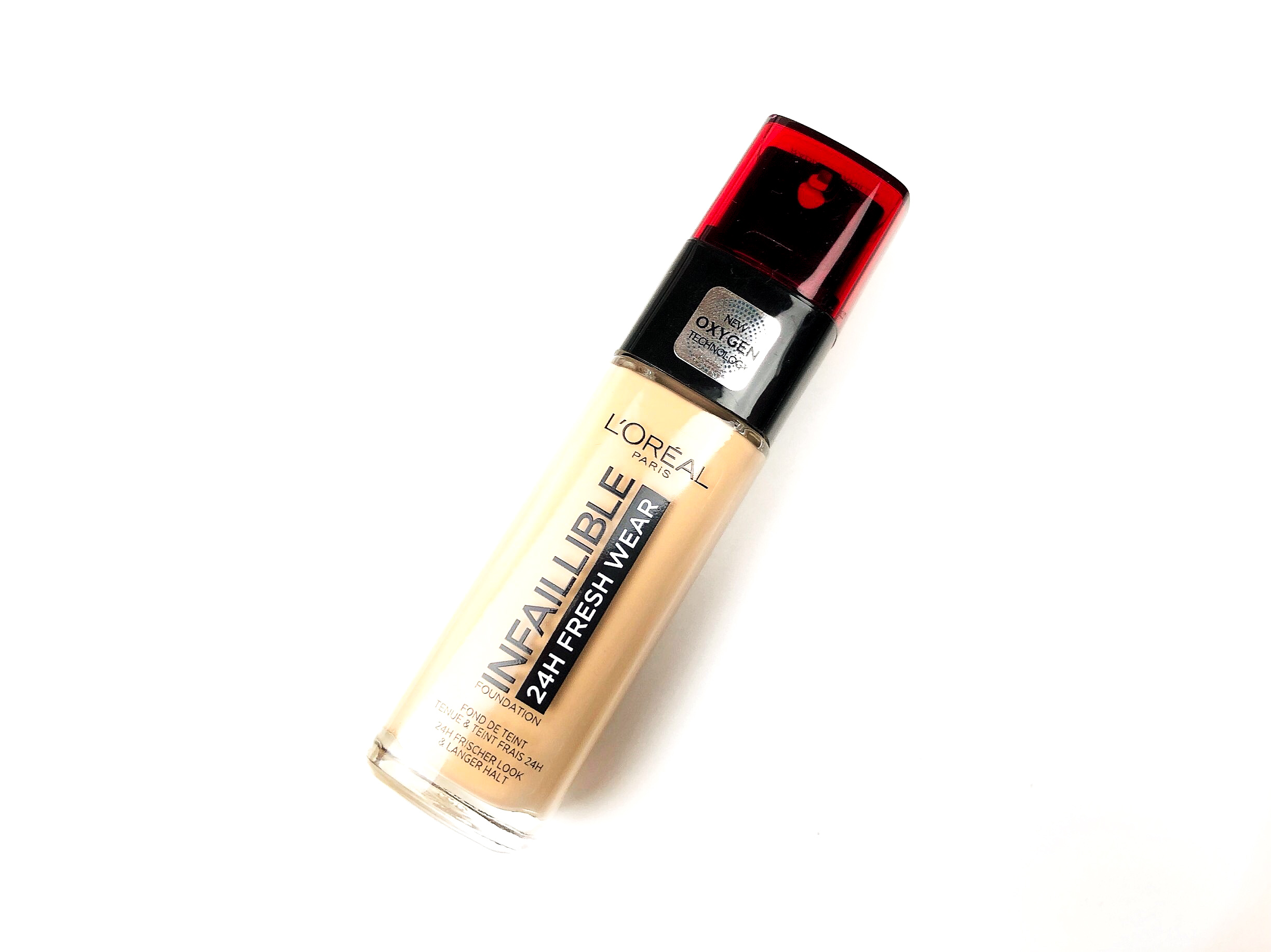 Review L'Oréal Infaillible 24H Fresh Wear Foundation (1)