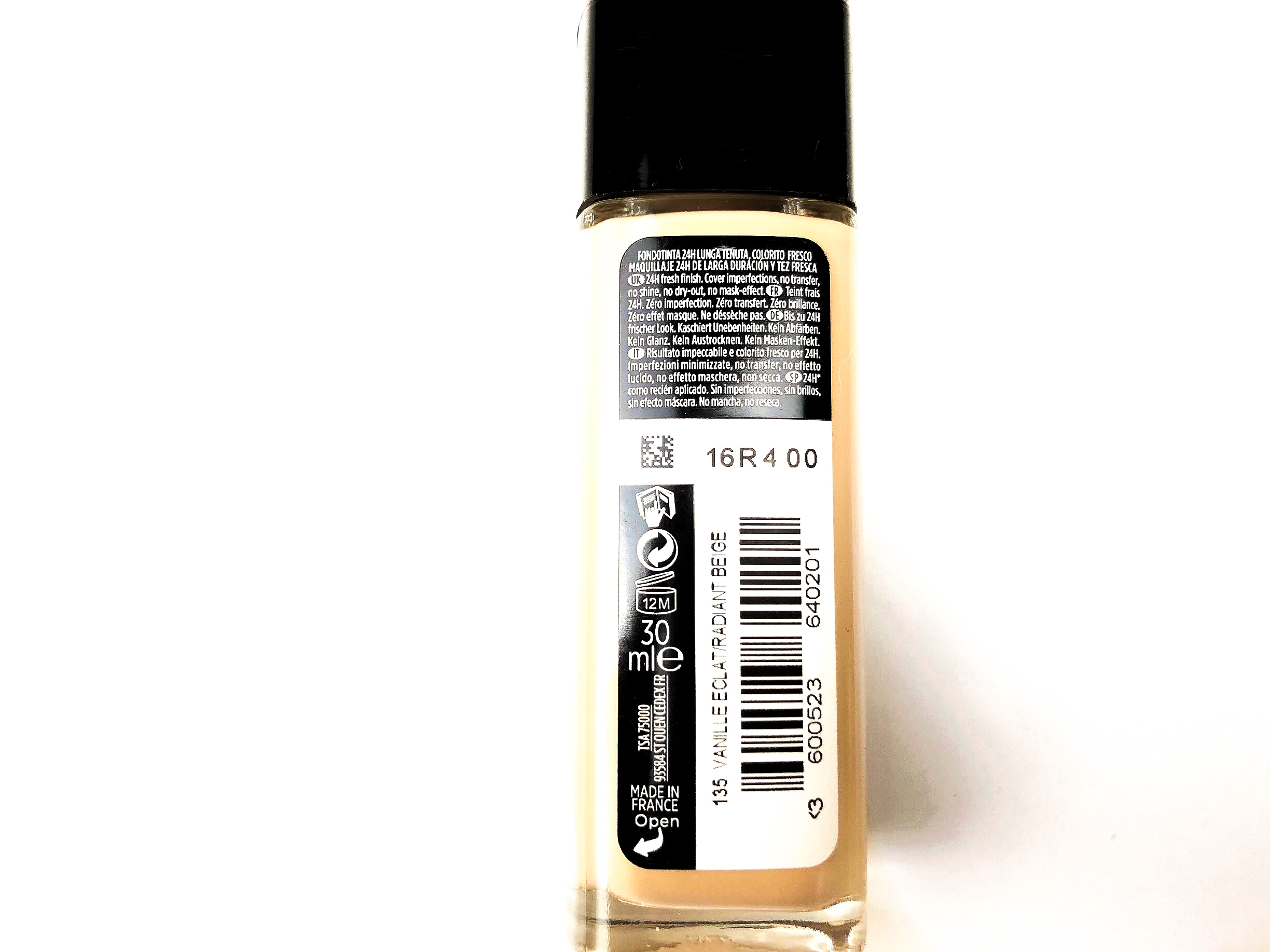 Recensione L'Oréal Infaillible 24H Fresh Wear Foundation (2)