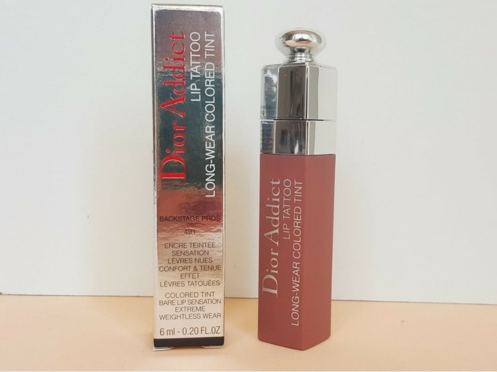 Dior Natural Rosewood Addict Lip Tattoo | Review