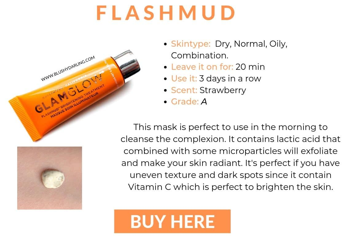 Glamglow Flashmud Mask Infos