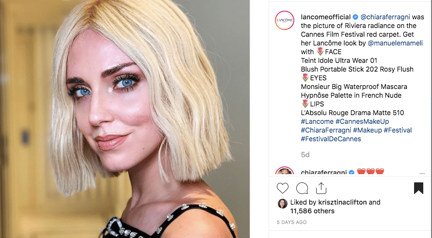 Chiara Ferragni Cannes 2019 Inspired Look 15