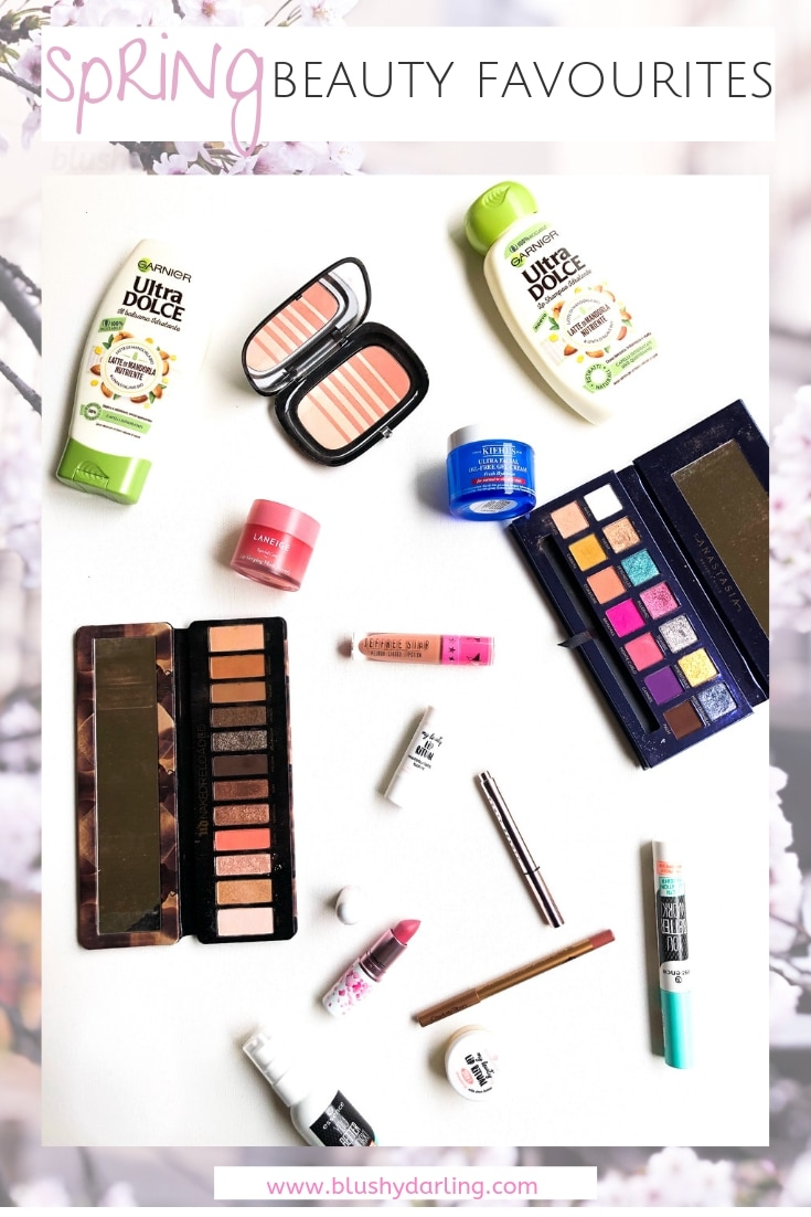 Here's a selection of my spring favourite makeup and beauty products.
