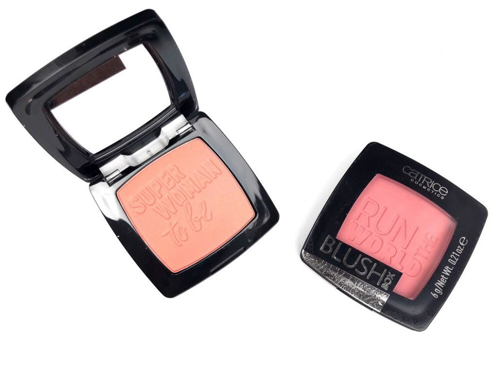 Catrice Berry and golden coral Blush Box