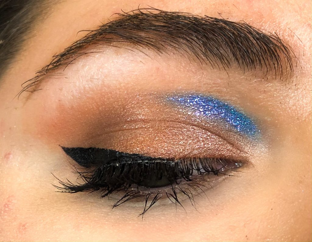 Summer Night Out Blue Cut Crease