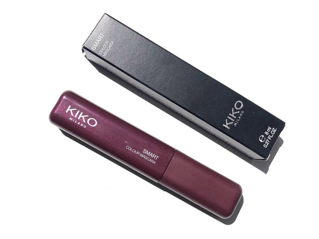 Kiko Metallic Burgundy Smart Colour Mascara
