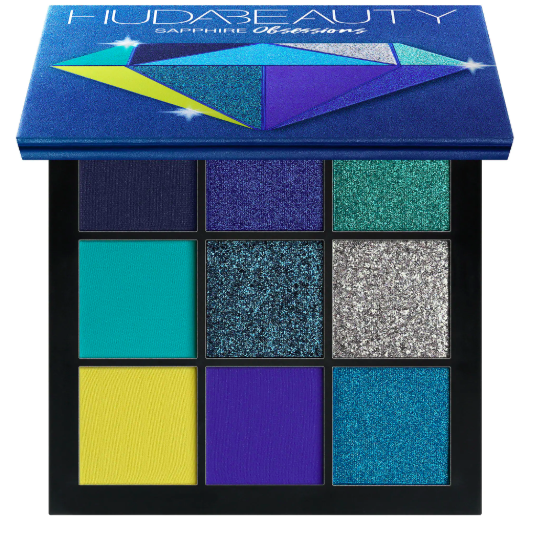 Huda Beauty Sapphire Obsessions Eyeshadow Palette