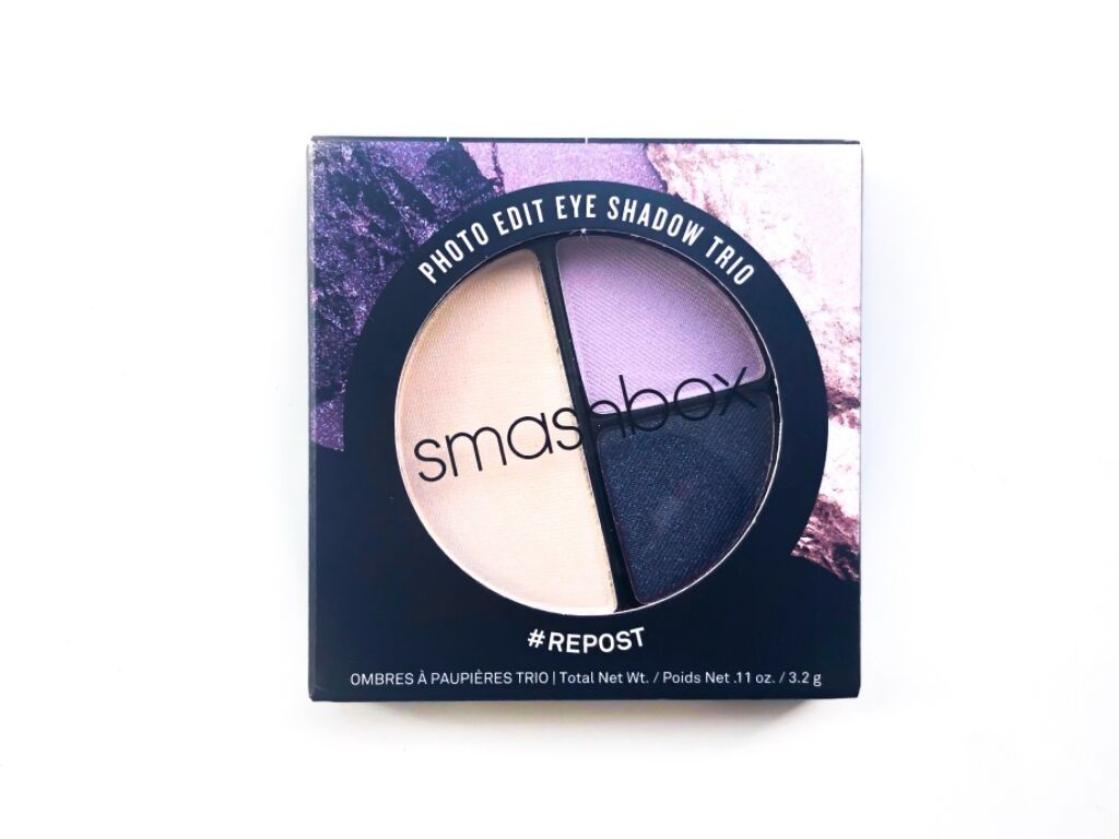 Smashbox # Repost Photo Edit Eyeshadow Trio | Review
