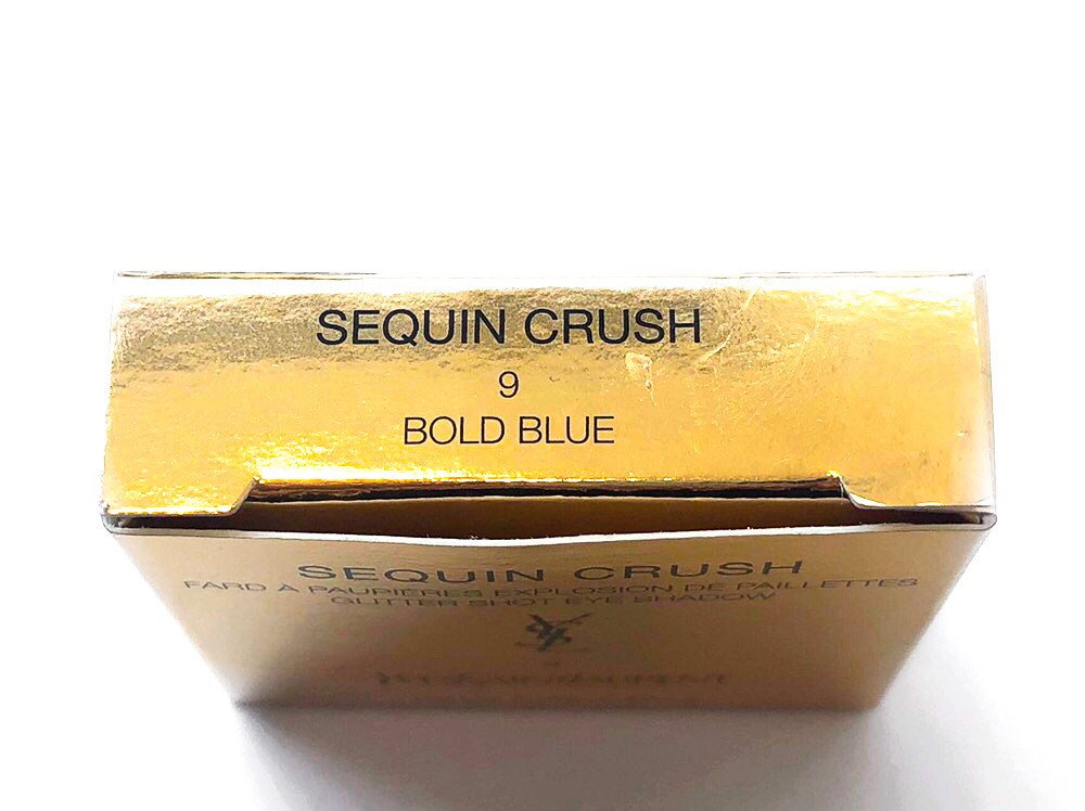 YSL Bold Blue Sequin Crush Mono Eyeshadow