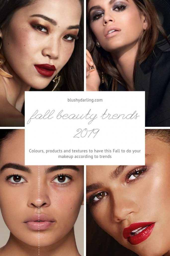 Find out all the beauty trends for Fall 2019 #makeup #beauty #blogger