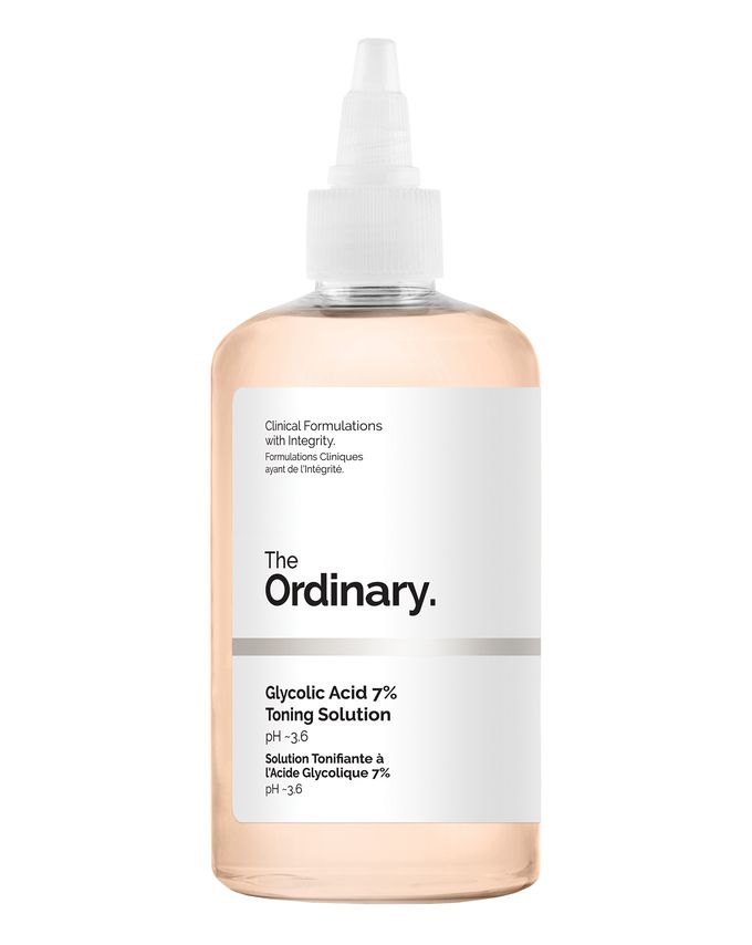 the ordinary must haves and best products Glycolic Acid 7% Toning Solution