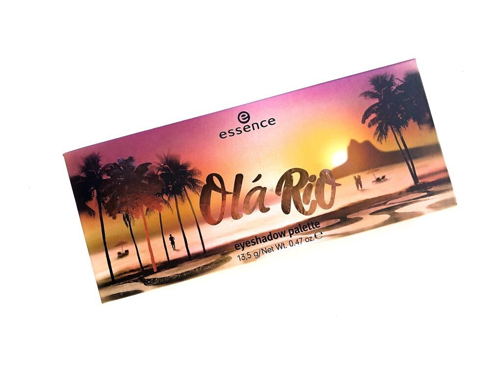 Essence Ola Rio Eyeshadow Palette | Review