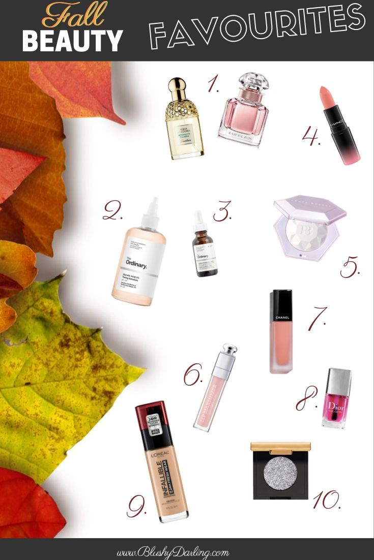 These are all the beauty products you'll need this fall!