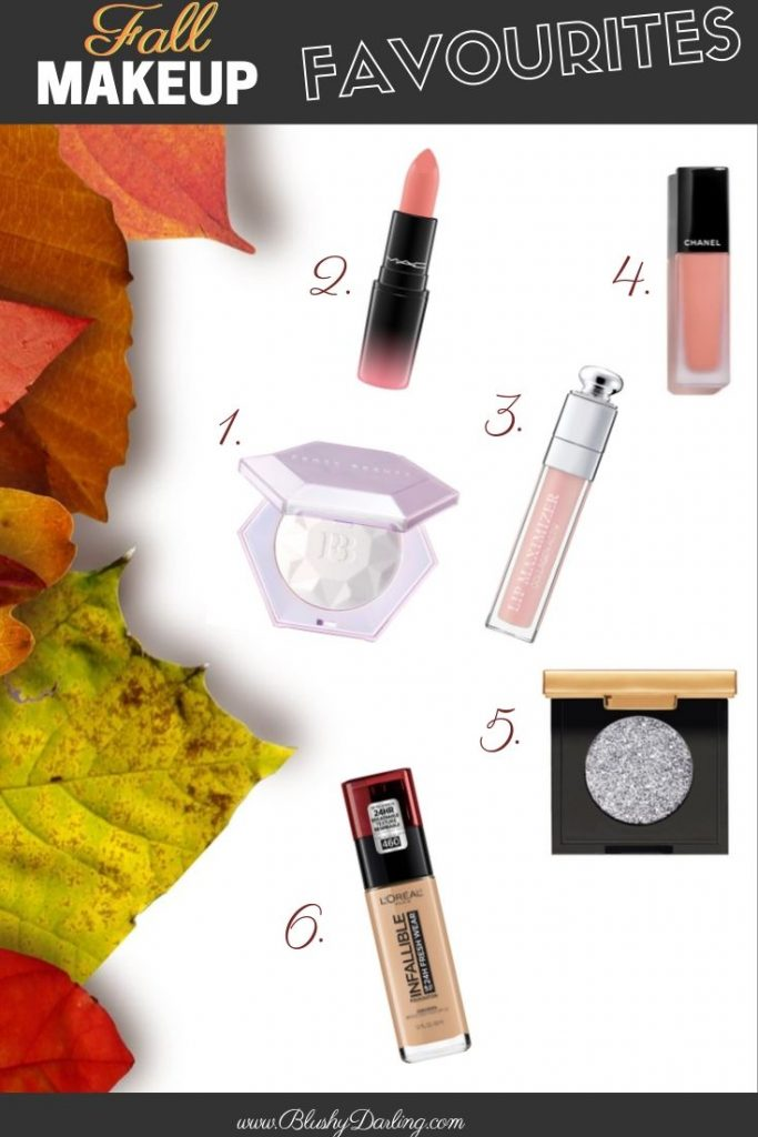 Here's my selection of Fall must haves makeup products!