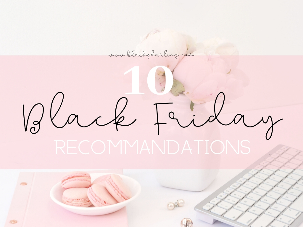 Black Friday Beauty Recommendations