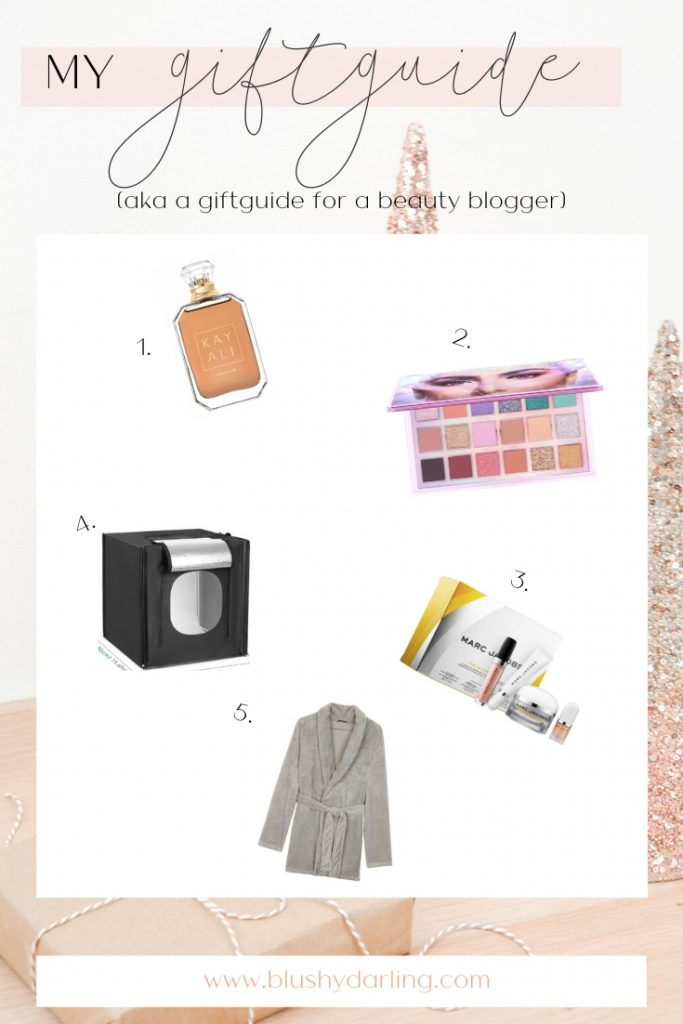 Here's my Giftguide For A Beauty Blogger but really it is My Wishlist for Christimas 2019