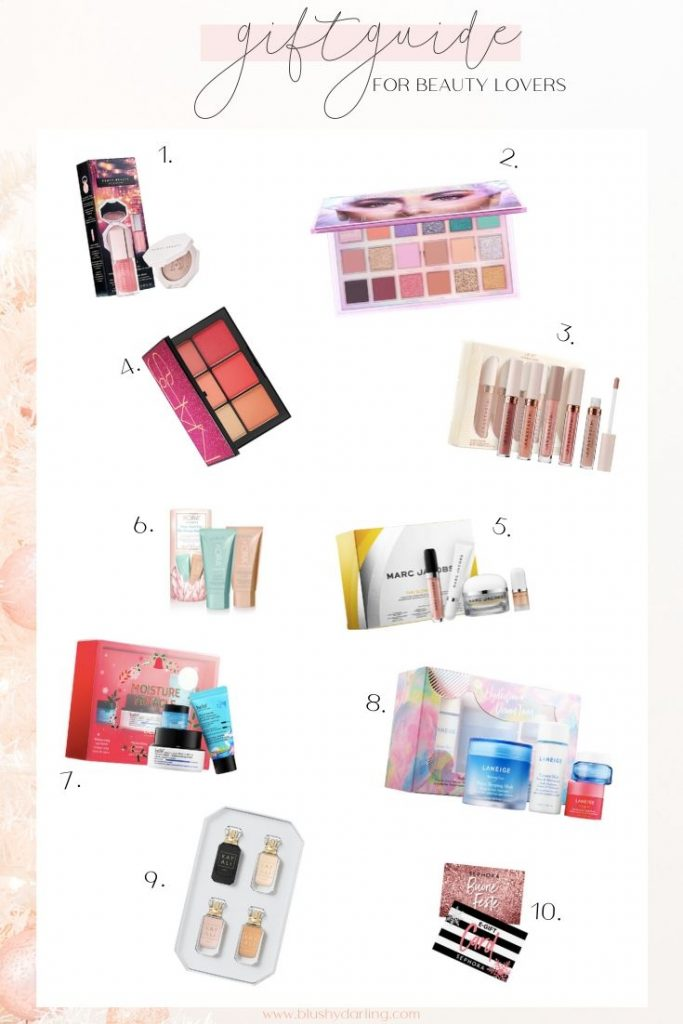 Here's this years #giftguide , it is perfect for all the beauty lovers, makeup lovers and skincare junkies in your life.