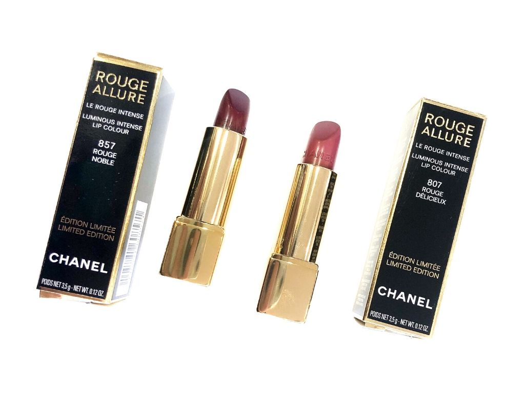 Chanel 307 Rouge Delicieux, 357 Rouge Noble Rouge Allure Lip Colour | Review