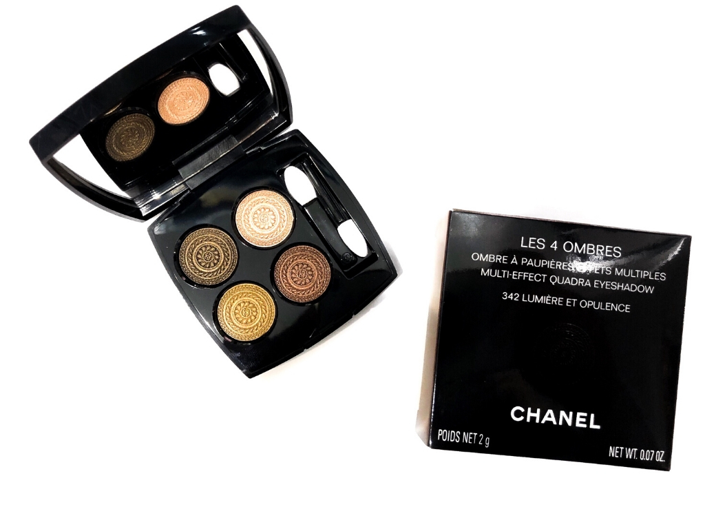 Chanel 342 Lumière Et Opulence Les 4 Ombres Multi-Effect Quadra Eyeshadow | Review