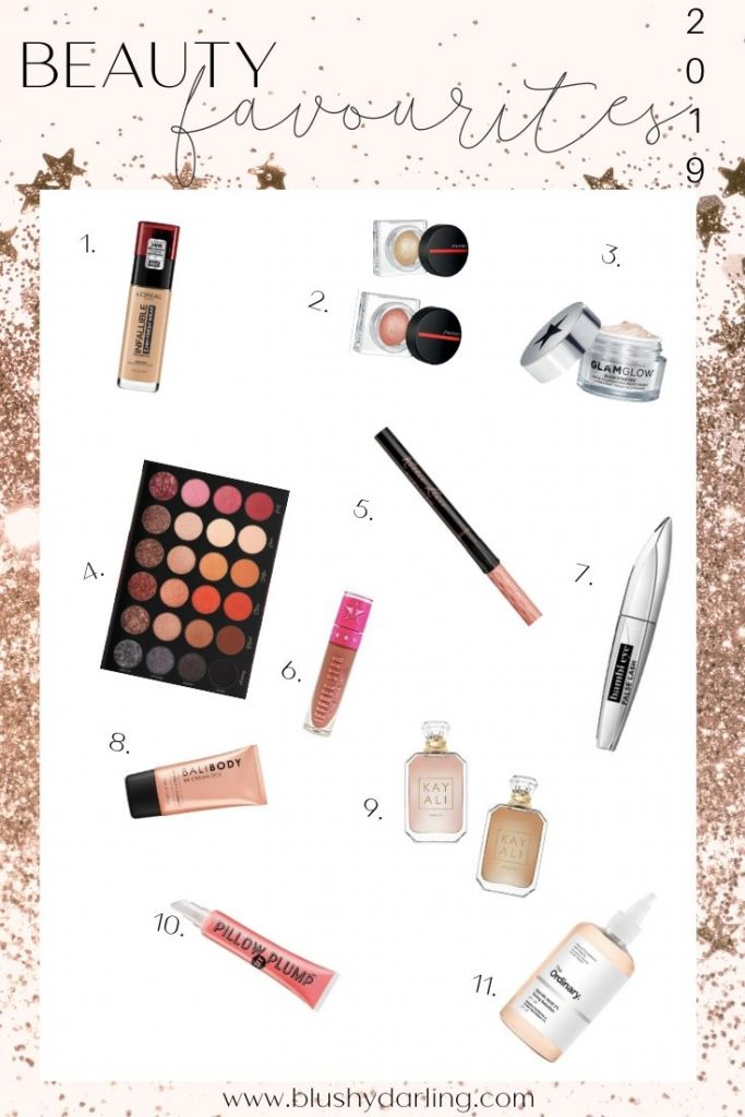 Here are my 2019 beauty favourites. My must have makeup and skincare products I've discovered in 2019  #makeup #beauty #blogger