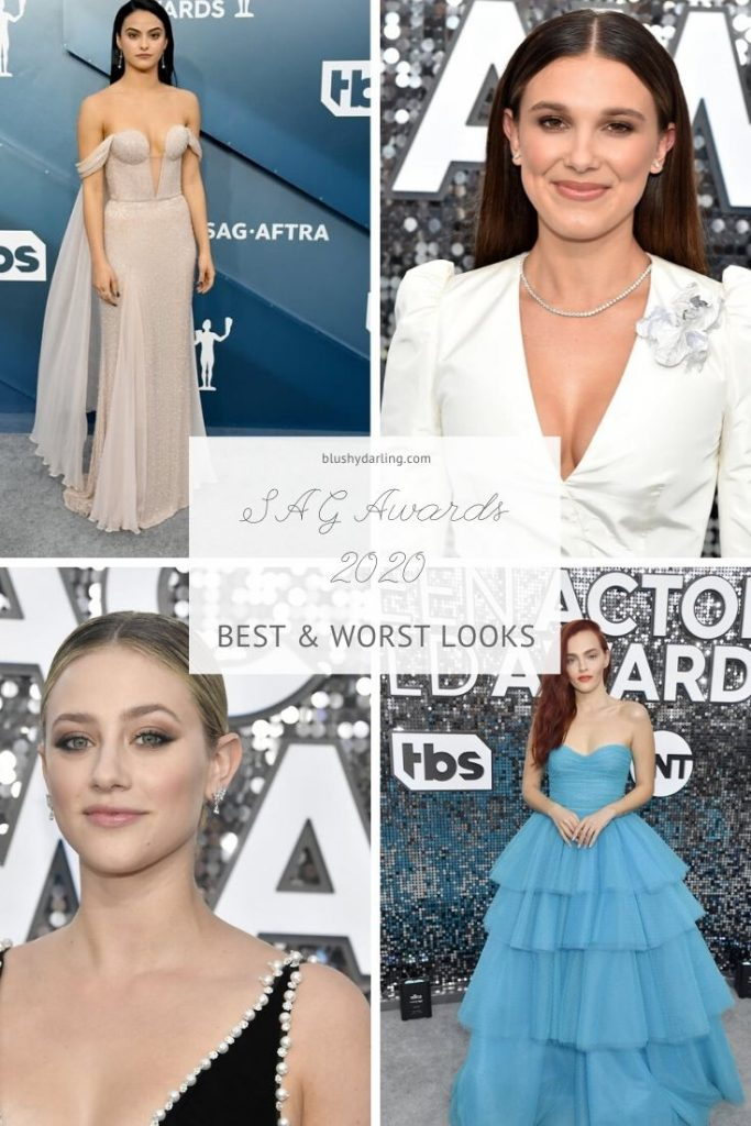 Check out today's post to find out the  Best & Worst Looks of the SAG Awards 2020 #makeup #beauty #fashion