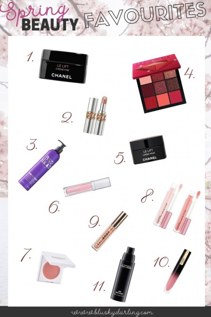 Here's my selection of beauty favourites you'll need this spring in makeup, skincare and haircare. #makeup #beauty #blogger
