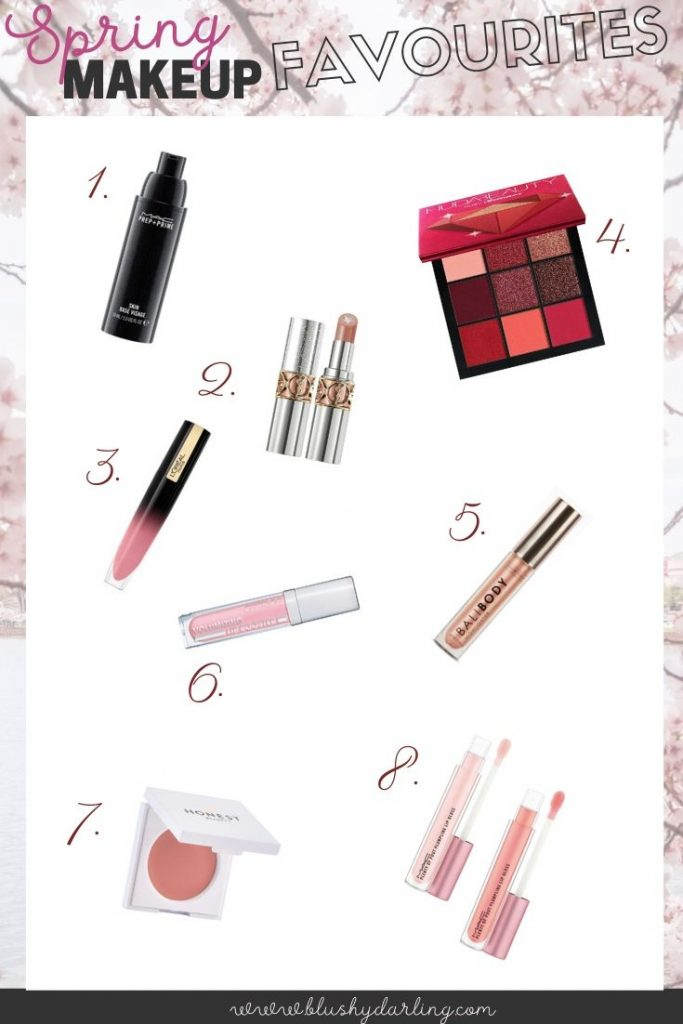 All my makeup favourites you'll need this Spring
