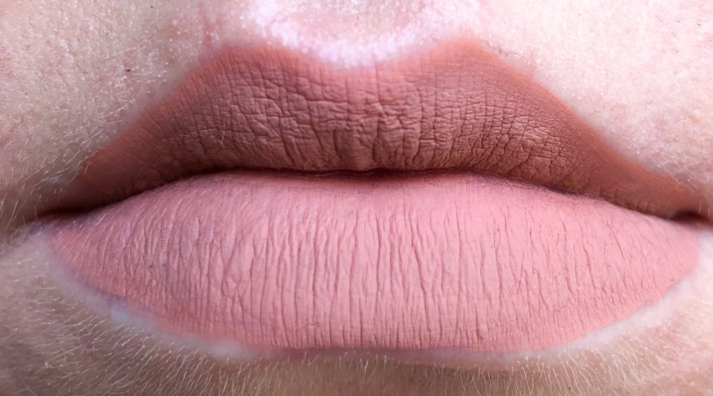 Essence 01 Hello Sunrise! Stay 8h Matte Liquid Lipstick Review and Swatch