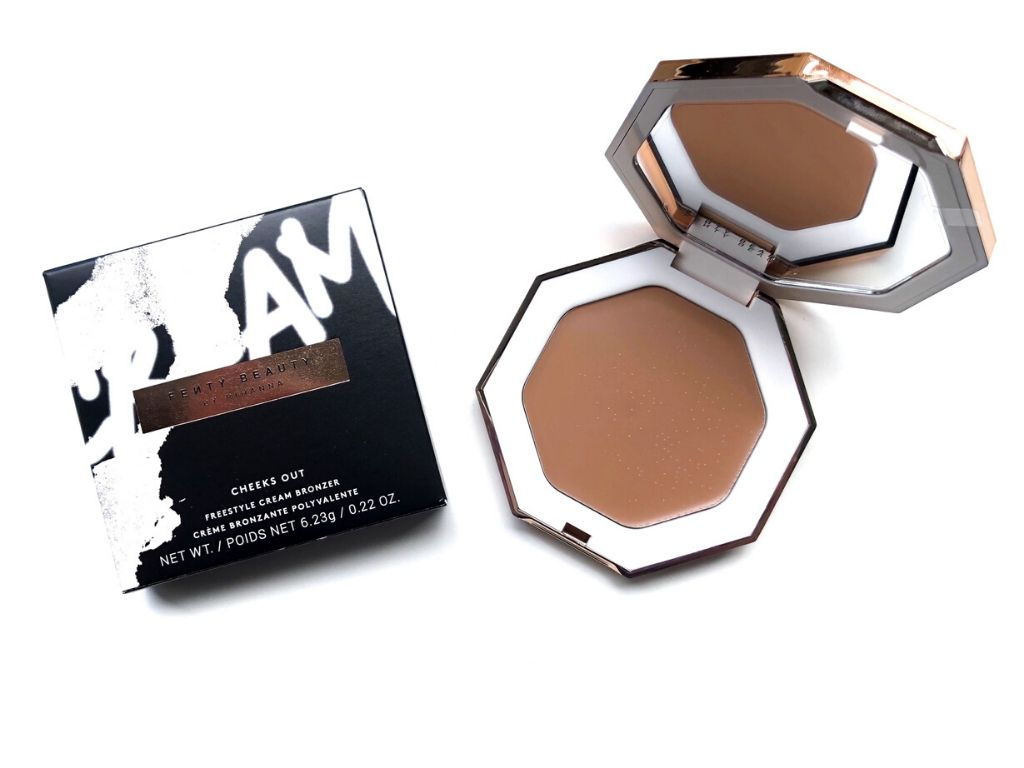 Fenty Beauty Butta Biscuit Cheeks Out Freestyle Cream Bronzer | Review