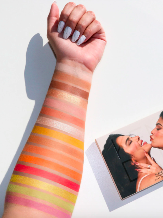 Kendall By Kylie Cosmetics Collection Eyeshadow Palette Swatches