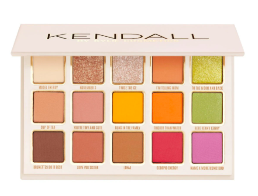 Kendall By Kylie Cosmetics Collection Eyeshadow Palette
