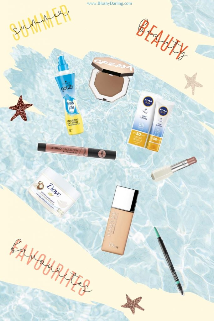 My selection of products you'll need in beauty this Summer including skincare, haircare and makeup. #makeup #beauty #blogger