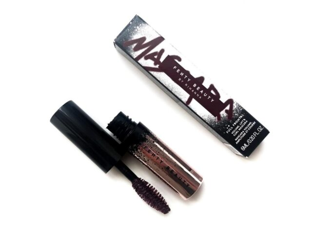 fenty miss merlot , fenty miss merlot mascara , fenty mascara , fenty beauty mascara , Fenty Beauty Full Frontal Volume, Lift & Curl Mascara , Miss Merlot review ,fenty mascara review , fenty burgundy mascara