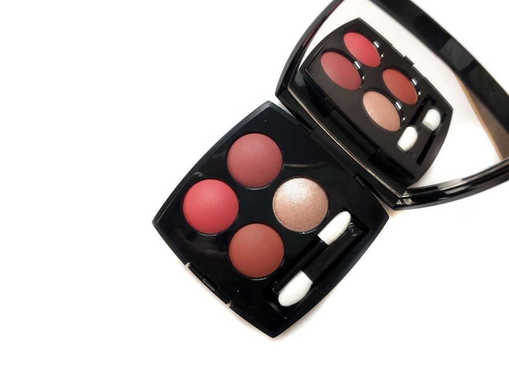 Chanel Candeur Et Seduction , chanel candeur seduction , Chanel Candeur Et Seduction Les 4 Ombres Multi-Effect Quadra Eyeshadow ,  review ,  swatch ,  makeup , beauty ,  chanel ,