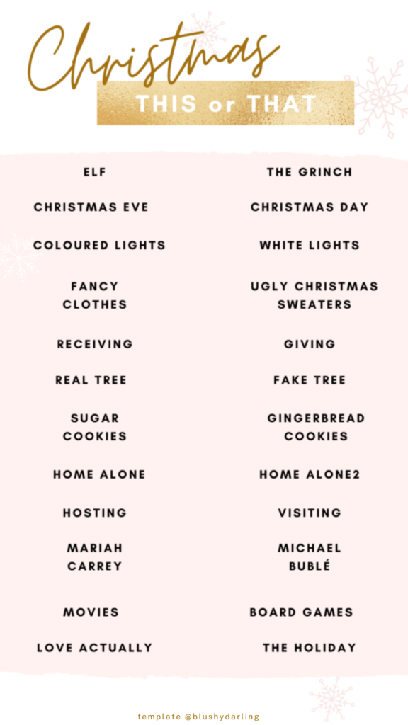 Christmas This or That , instagram template , instagram stories template , stories template, Christmas instagram template , Christmas instagram stories template , Christmas stories template , christmas templates instagram story , christmas instagram post templates , templates instagram stories question christmas , christmas templates for instagram stories #makeup #beauty #blogger