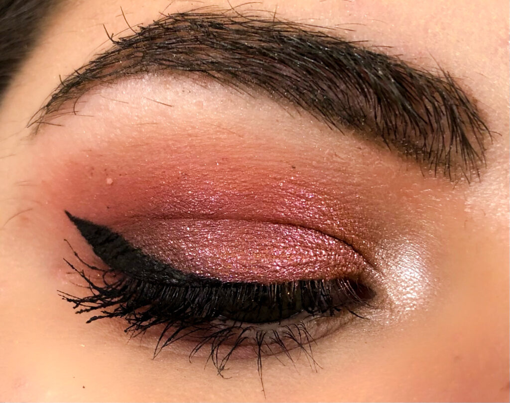 Wintery Berry Pink Look