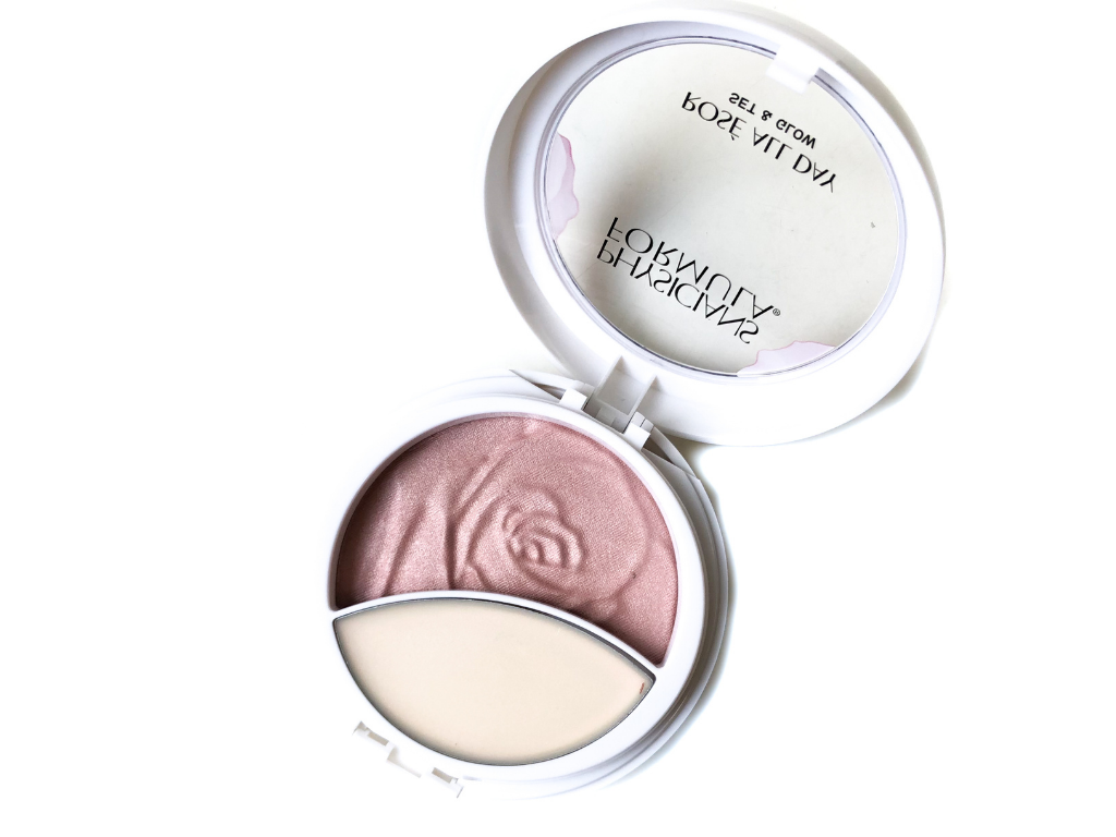 Physicians Formula Brightening Rose , physicians formula set and glow , how to use physicians formula rose all day set and glow , physicians formula rose all day set and glow review , makeup , beauty , physicians formula , rose all day , set and glow , review ,