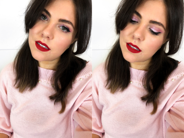 Springy Pink & Red Look