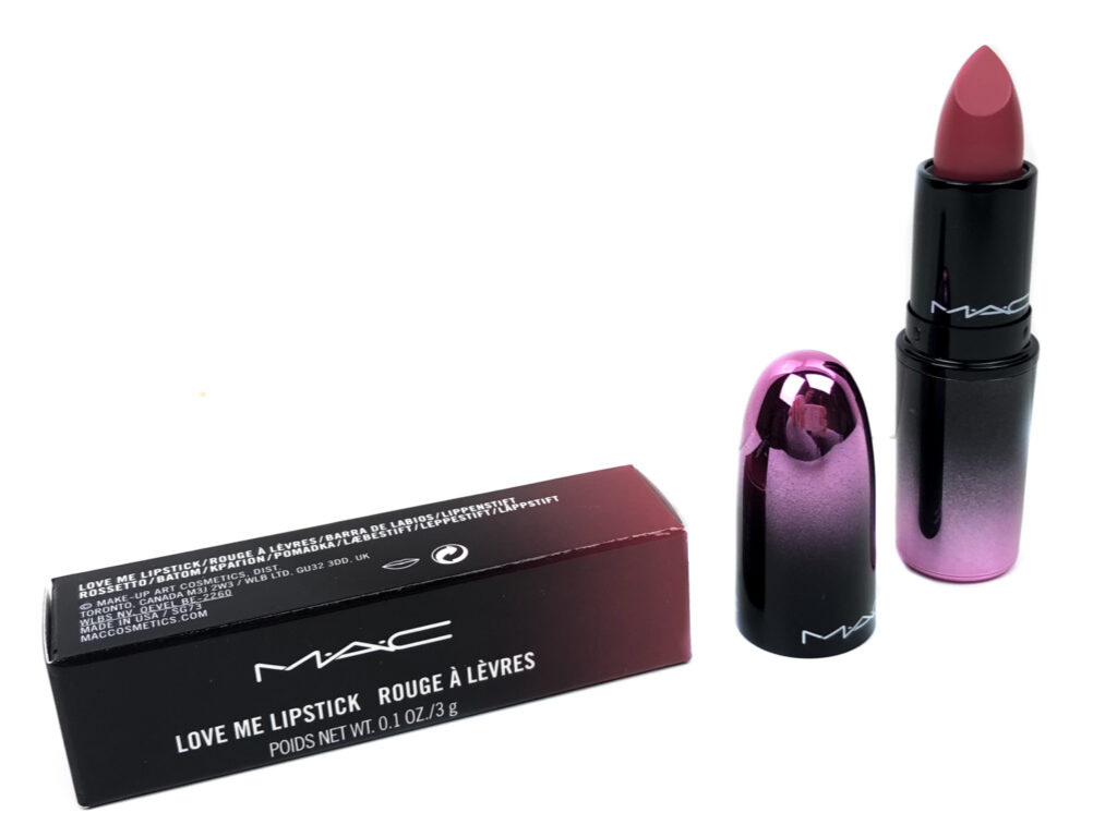 MAC Cosmetics Hey Frenchie ! Love Me Lipstick | Review