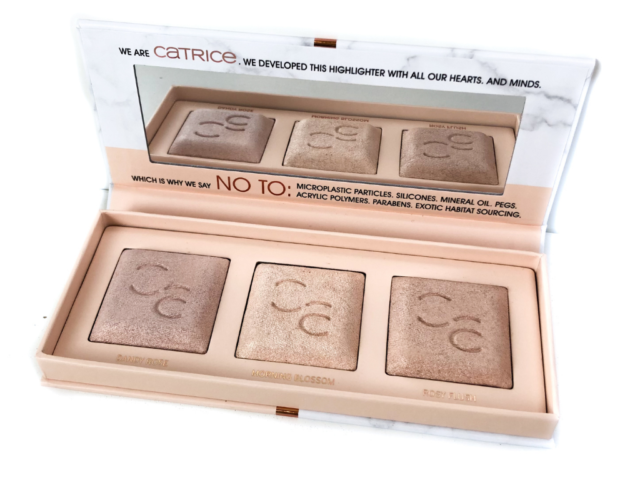 Beauty, catrice, Catrice Clean ID Highlighting Palette, Catrice Clean ID Highlighting Palette rose gold, Catrice Clean ID mineral Highlighting Palette, clean id, Makeup, Review, swatch